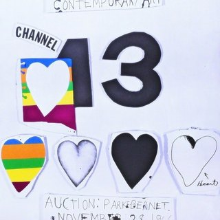 Channel 13 Hearts art for sale