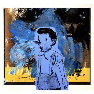 Little Blue Pinocchio, ed. PI/12 art for sale