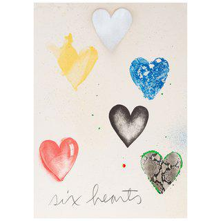 Six Hearts art for sale