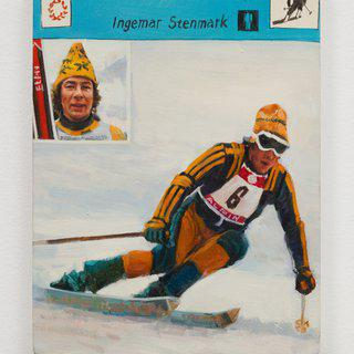 Ingemar Stenmark art for sale