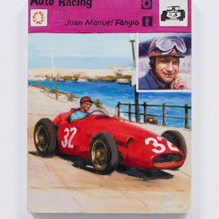 Juan Manuel Fangio art for sale