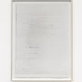 Untitled (white (line), from the series Impermanent Horizon) art for sale