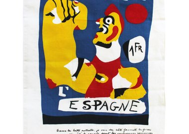 Joan Miró - Help Spain Tea Towel