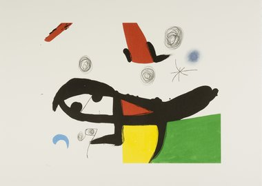 work by Joan Miró - Untitled 2012