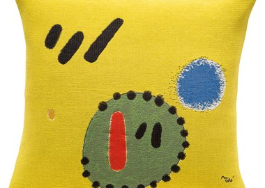 Joan Miró - 2+5=7 (1965) (pillow)