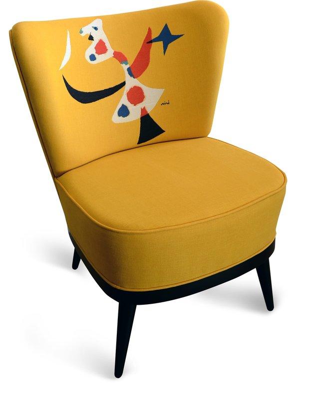 Joan miró fauteuil oiseau chair