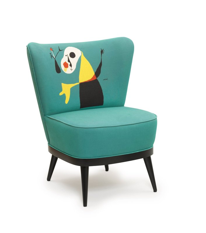 Joan miró fauteuil personnage chair