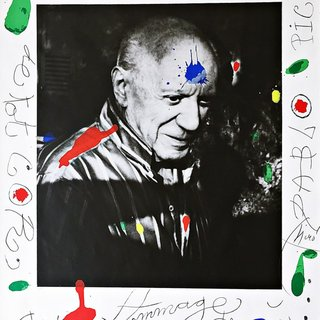 Joan Miró, Hommage à Picasso (Homage to Picasso)