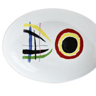 A Toute Epreuve - Oval Platter art for sale