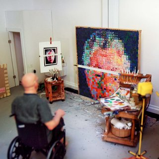 Joe Fig, Chuck Close: Summer 2004 #2