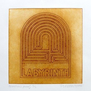 Labyrinth art for sale