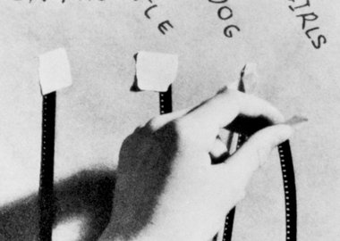 work by John Baldessari - How to Make a Film (Edit)