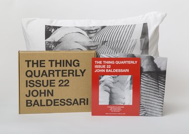 work by John Baldessari - Issue 22