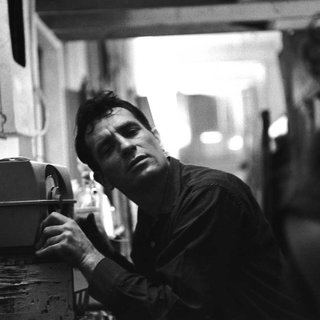 John Cohen, Jack Kerouac Listening to Himself on the Radio