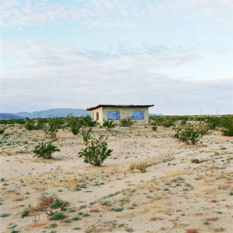 main work - John Divola, Isolated Houses, N34°10.466'W115°54.878'