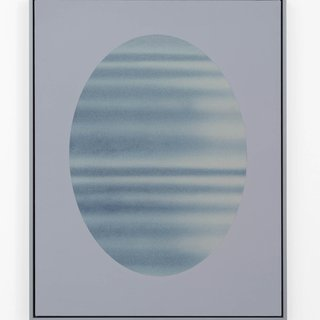Oval (grey) art for sale