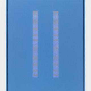 Double-Slit (blue-violet) art for sale