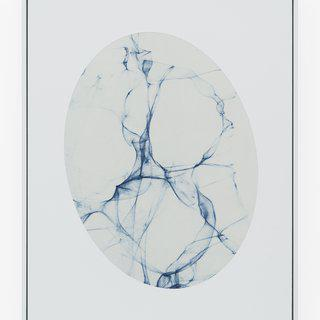 Laser in Tilted Oval Frame #1 art for sale