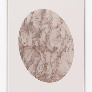 Laser in Tilted Oval Frame #2 art for sale