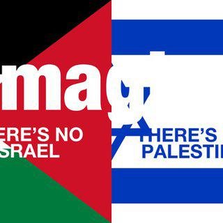 Imagine There's No Israel, There's No Palestine art for sale