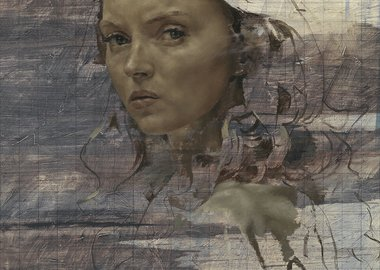 work by Jonathan Yeo - Lily Cole