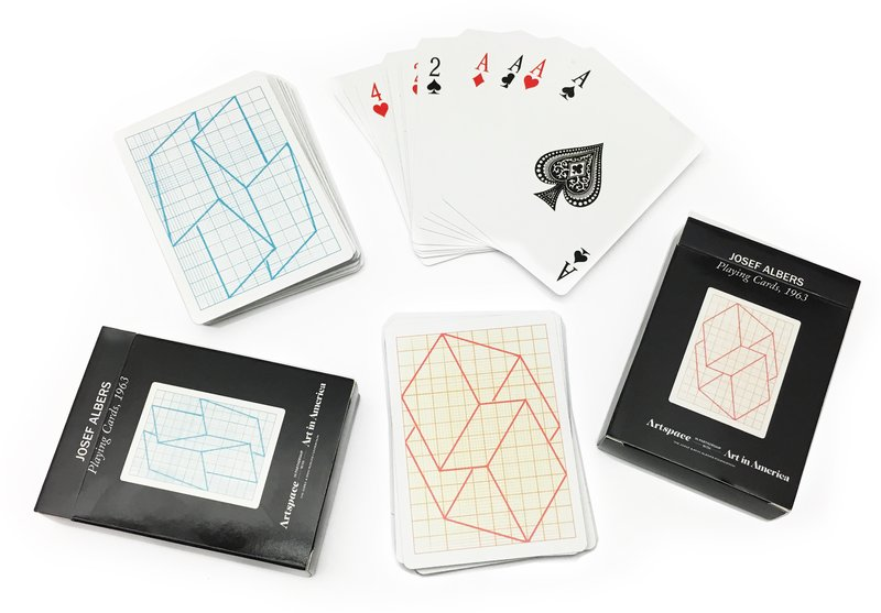 view:8740 - Josef Albers, Playing Cards -