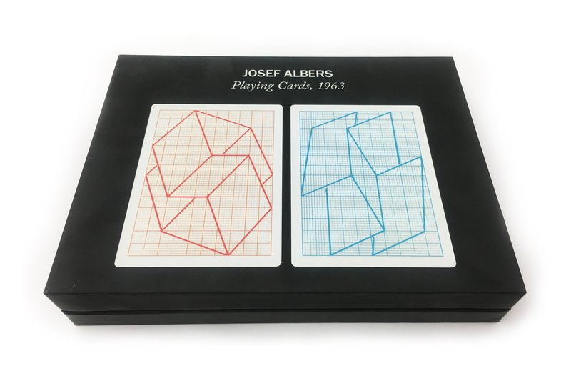 view:8768 - Josef Albers, Playing Cards -