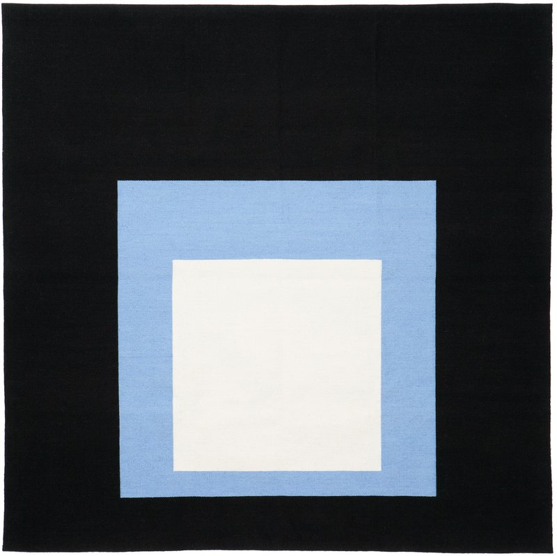 main work - Josef Albers, Homage To The Square: Black Setting