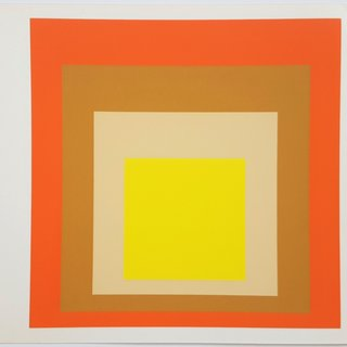 "Homage to the Square: Yes Sir (from ""Albers"") art for sale"