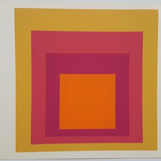 "Josef Albers, Homage to the Square: La Tehuana (from ""Albers"")"