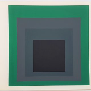 "Josef Albers, Homage to the Square: Grisaille and Patina (from ""Albers"")"
