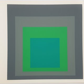 "Homage to the Square: Renewed Hope (from ""Albers"") art for sale"