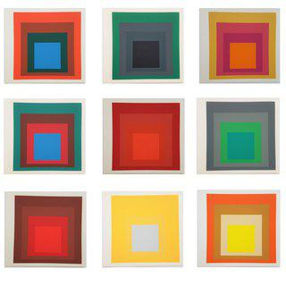 Josef Albers, Albers (an Introduction by Juergen Wissmann)