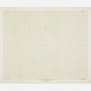 Josef Albers, Study / Sketch for a Structural Constellation