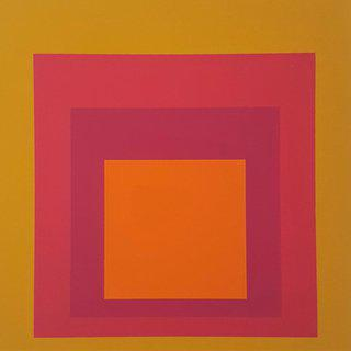 "Homage to the Square: La Tehuana (from ""Albers"") art for sale"
