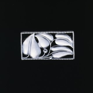 Sterling Silver Leaf Pin art for sale