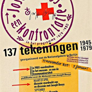 Joseph Beuys, een konfrontatie, 137 Tekeningen 1945-1979, (Hand Signed) art for sale