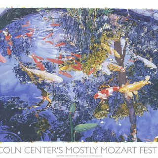 Pond with Goldfish art for sale
