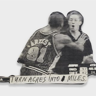 Turn acres into miles art for sale