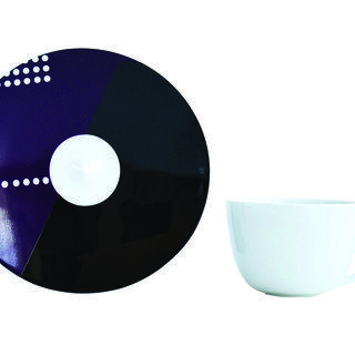 Oscar - Espresso cup and saucer art for sale