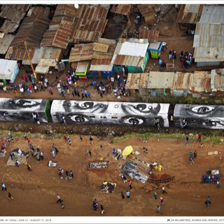 28 MM, Women are Heroes, Action in Kibera Slum, Nairobi Kenya 2009 poster art for sale