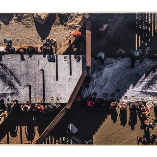 MIGRANTS, MAYRA, PICNIC ACROSS THE BORDER, TECATE, MEXICO - U.S.A, 2017 art for sale