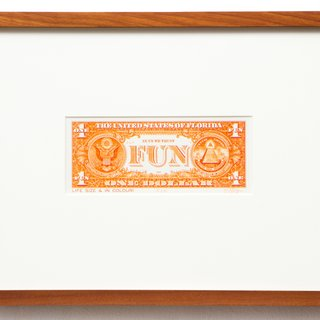 J.S.G. Boggs, Orange One Dollar Fun Buck