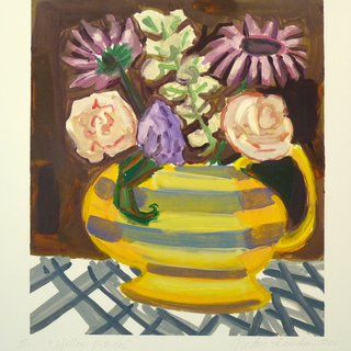 Yellow Pitcher II art for sale