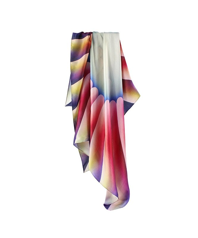 Judy Chicago, Through the Flower Scarf -
