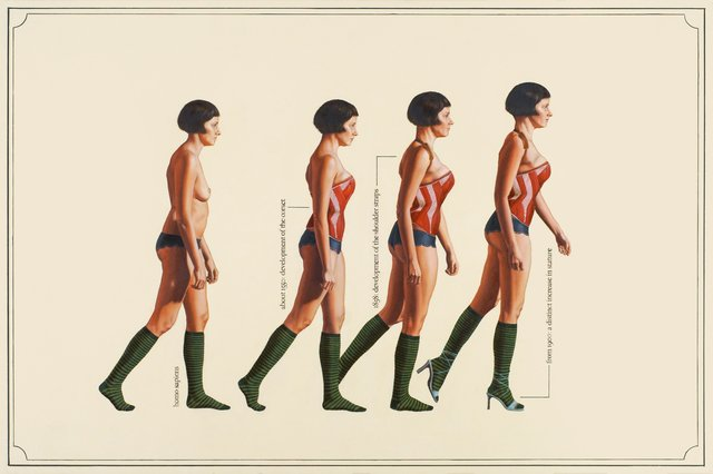 Julia Faber - Human Evolution, Painting