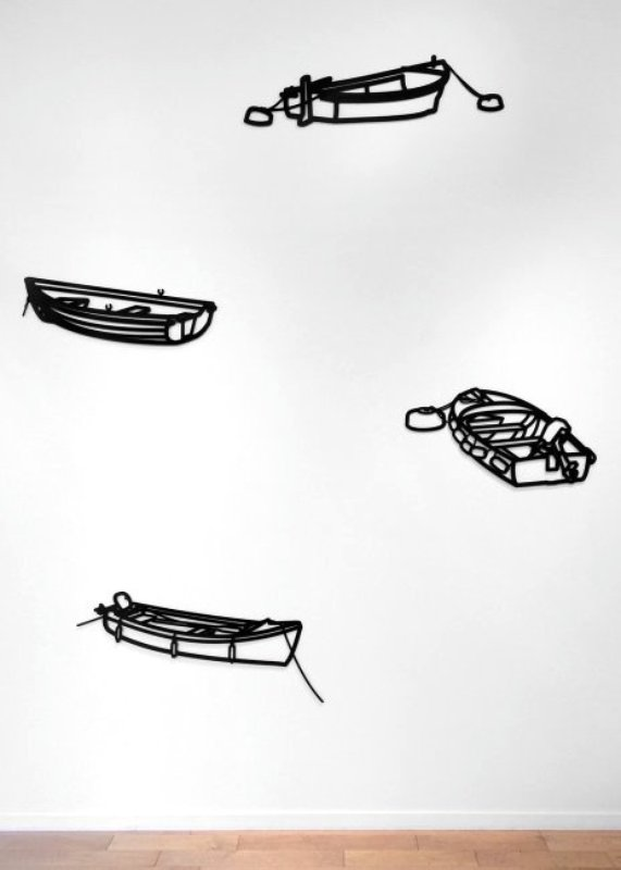 view:9055 - Julian Opie, Boat 2, from Nature 1 Series -