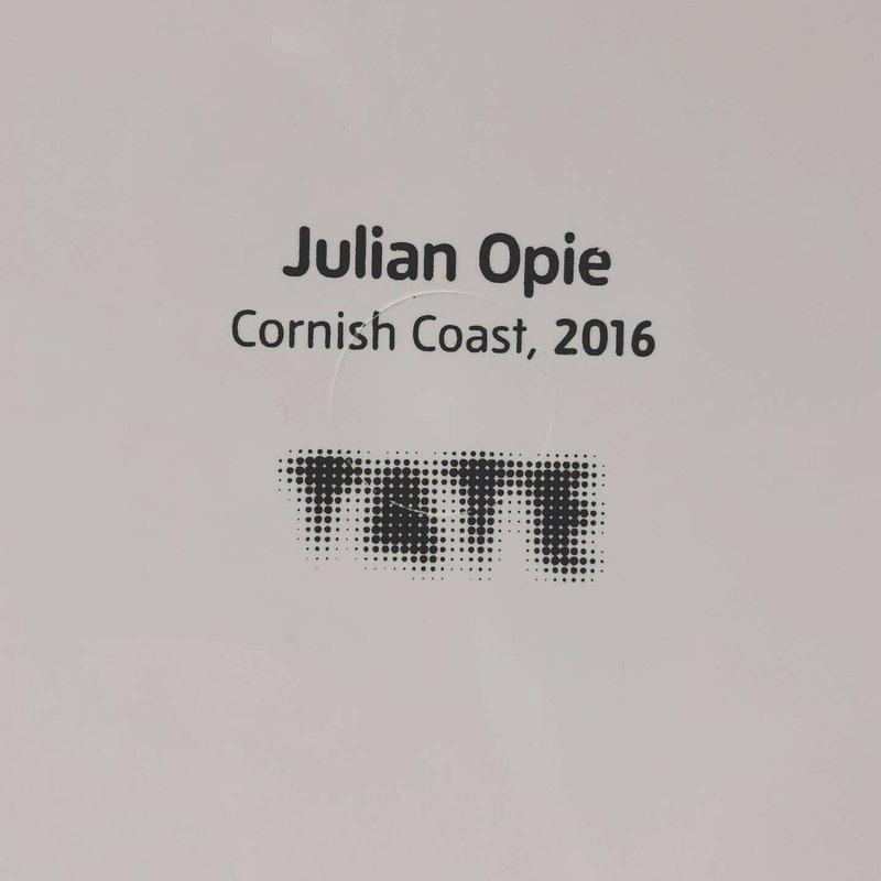 Julian Opie Cornish Coast Tray New Unused