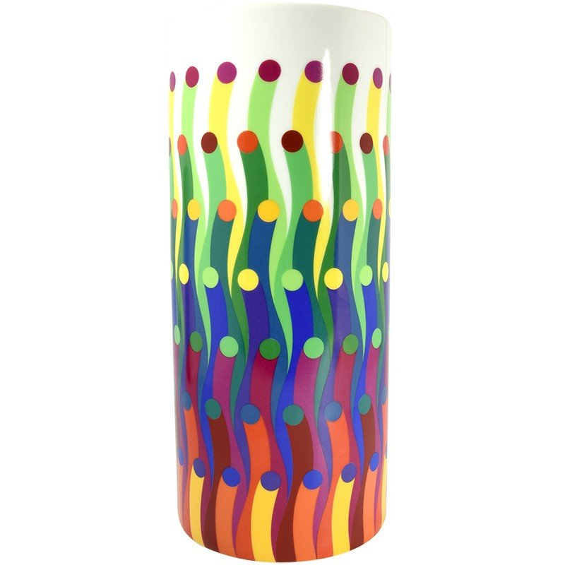 Julio Le Parc, Surface Colorée B29, Tube Vase