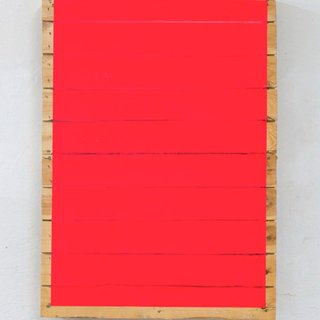 Luminous red stripes art for sale